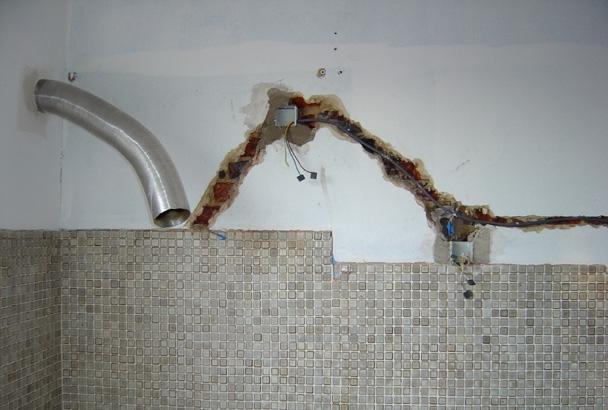 Muurtegels Keuken Antwerpen : Afbreking en vervanging van een bestaande keuken door een Ixina keuken